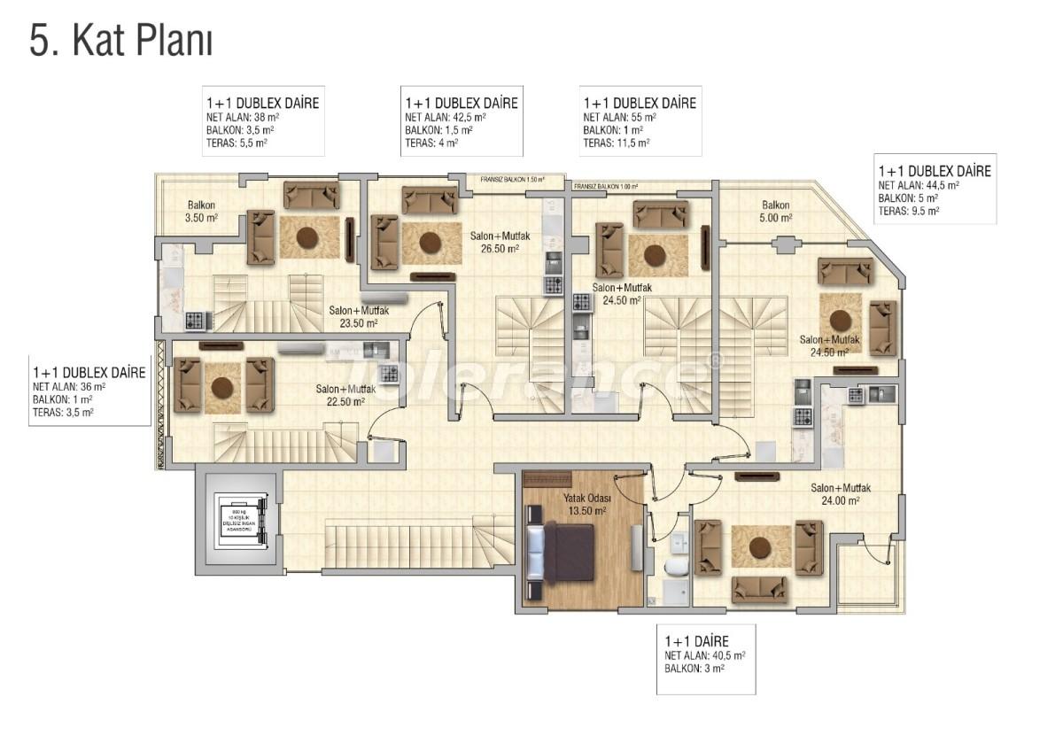 Cozy apartments in Mahmutlar, Alanya - 28835 | Tolerance Homes