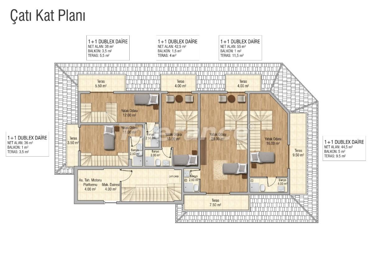 Cozy apartments in Mahmutlar, Alanya - 28834 | Tolerance Homes