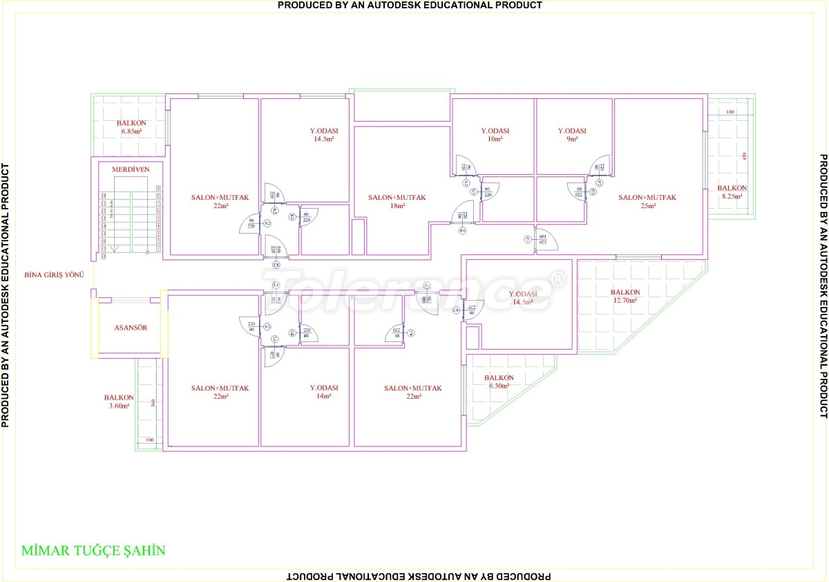 Apartments in Mahmutlar with pool from the developer with installments up to 18 months - 28855 | Tolerance Homes