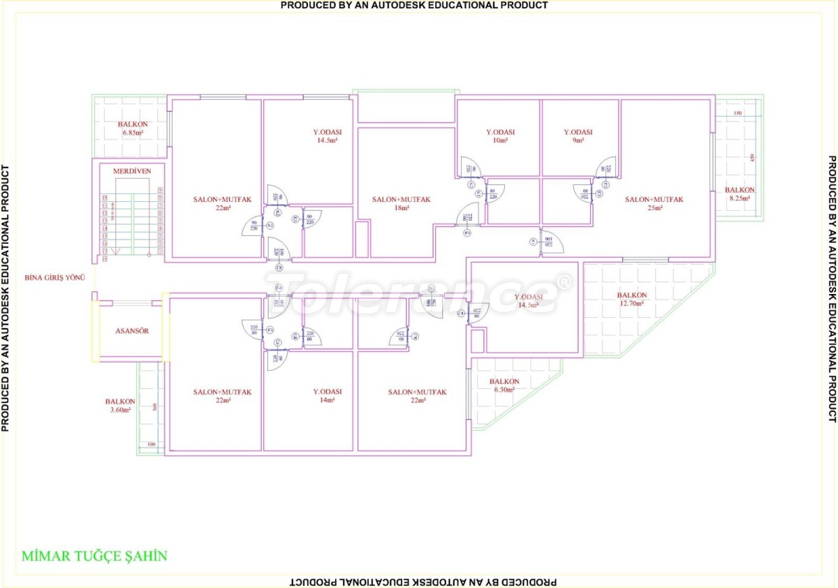 Apartments in Mahmutlar with pool from the developer with installments up to 18 months - 28857 | Tolerance Homes