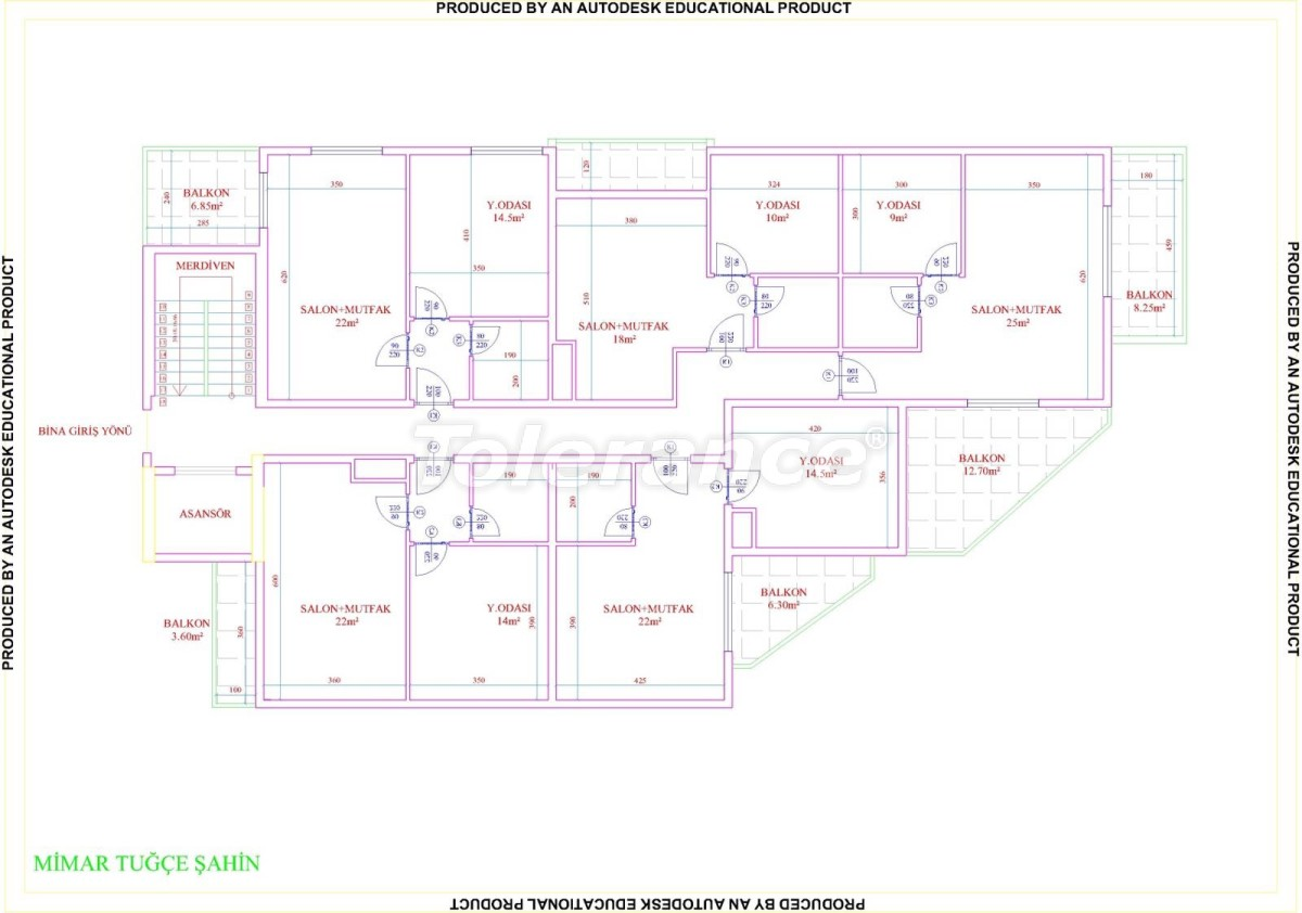 Apartments in Mahmutlar with pool from the developer with installments up to 18 months - 28858 | Tolerance Homes