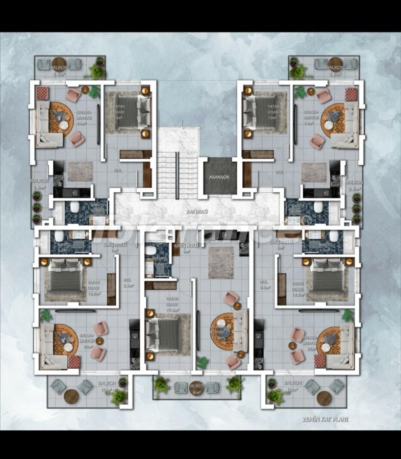 New project of apartments in Avsallar, Alanya - 28924   Tolerance Homes