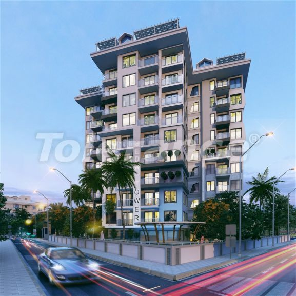 Luxury modern apartments in the center of Alanya just 700 meters from the sea - 28974   Tolerance Homes