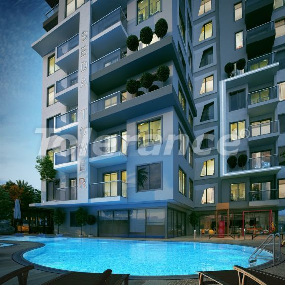 Luxury modern apartments in the center of Alanya just 700 meters from the sea - 28972   Tolerance Homes