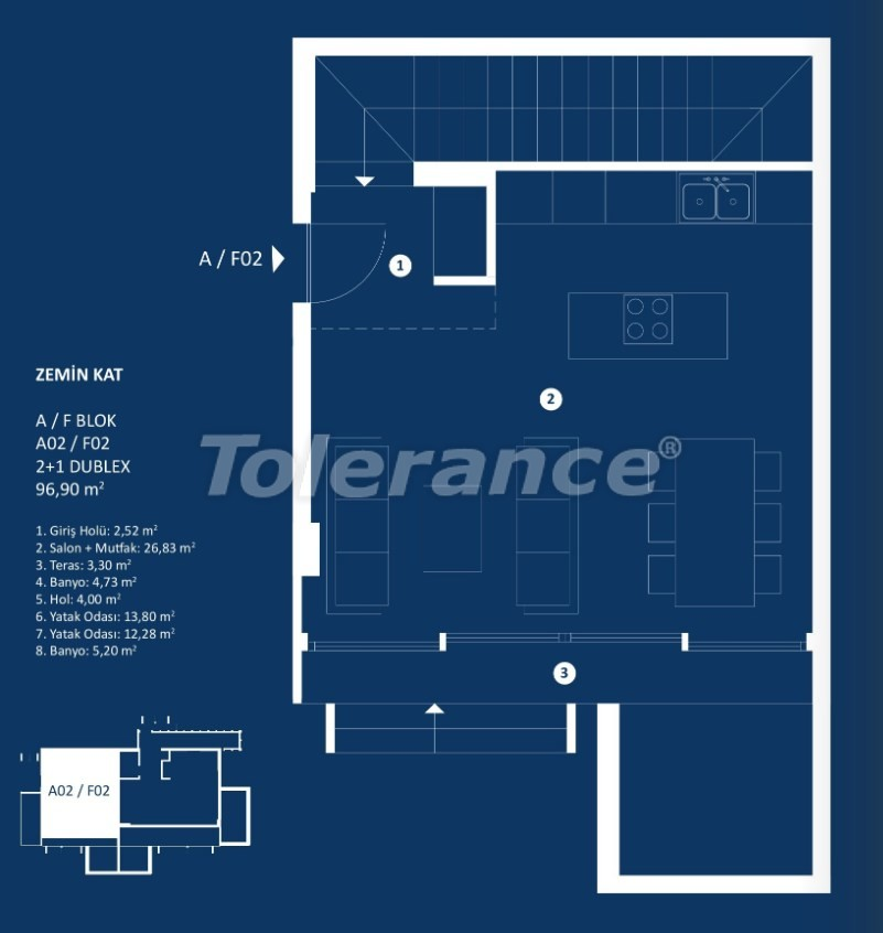Stylish luxury apartments in Cesme, Izmir with sea views - 29371 | Tolerance Homes