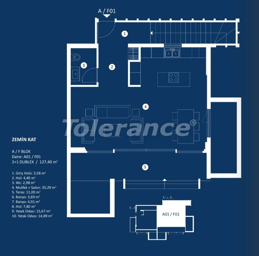 Stylish luxury apartments in Cesme, Izmir with sea views - 29375 | Tolerance Homes