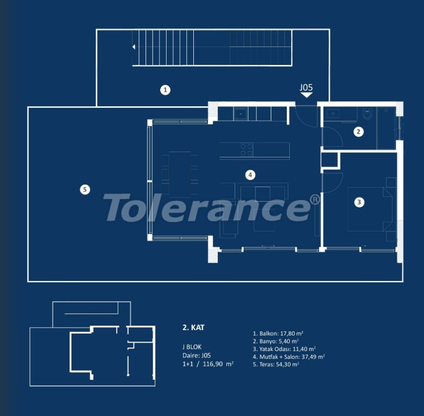 Stylish luxury apartments in Cesme, Izmir with sea views - 29380 | Tolerance Homes