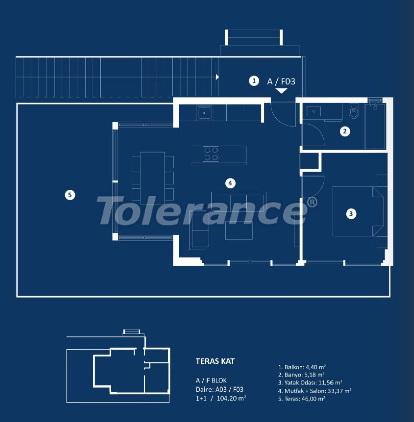 Stylish luxury apartments in Cesme, Izmir with sea views - 29372 | Tolerance Homes