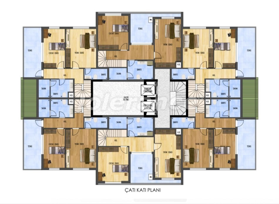 Luxurious apartments in Liman, Konyaalti from the developer just 900 meters from the sea - 29888 | Tolerance Homes