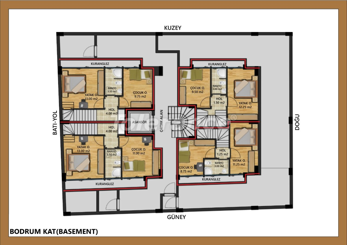 Luxurious apartments in the center of Antalya near the sea from a reliable developer - 30002 | Tolerance Homes