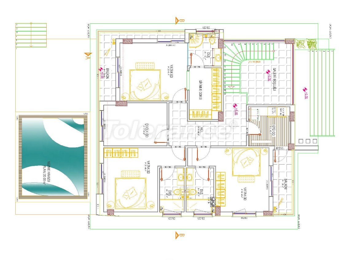 Detached house in Dosemealti, Antalya with private pool, with the possibility of obtaining Turkish citizenship - 30217 | Tolerance Homes