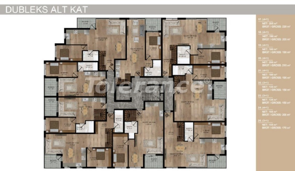 Apartments in Sarisu, Konyaalti from a reliable developer by installments - 30272 | Tolerance Homes