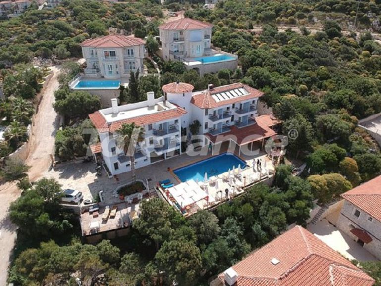 Boutique hotel in Kas with private beach and with the stunning Mediterranean sea view - 30486   Tolerance Homes