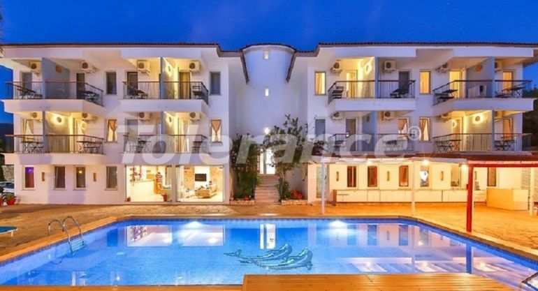 Boutique hotel in Kas with private beach and with the stunning Mediterranean sea view - 30476   Tolerance Homes