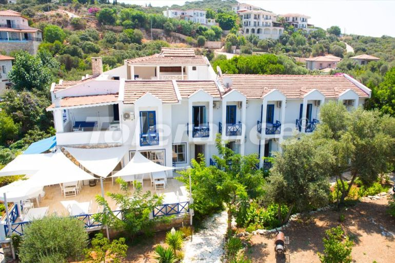 Boutique hotel in Kas with outdoor pool, private beach and with sea view - 30539 | Tolerance Homes