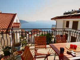 Resale two-bedroom apartment in the center of Kas with a beautiful view to the Mediterranean sea - 30603 | Tolerance Homes