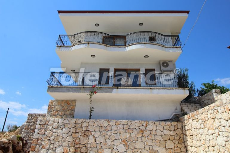 Inexpensive private house in Kas with a beautiful sea and mountain view - 30720 | Tolerance Homes