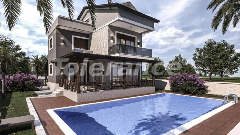Luxury villas in Belek with private pool with installments up to 1 year - 31008 | Tolerance Homes