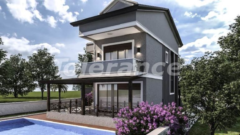 Luxury villas in Belek with private pool with installments up to 1 year - 31009 | Tolerance Homes