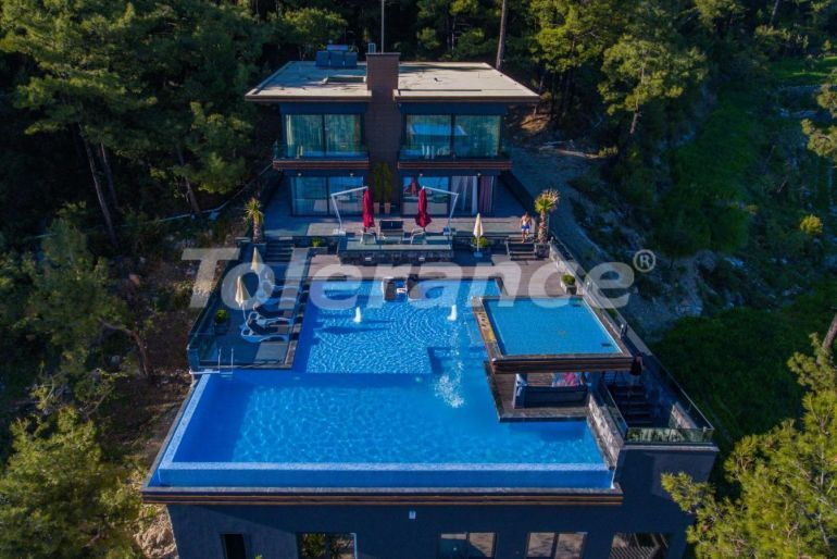 Luxury villa in Kalkan with a huge private garden and with the Sea view - 31045 | Tolerance Homes