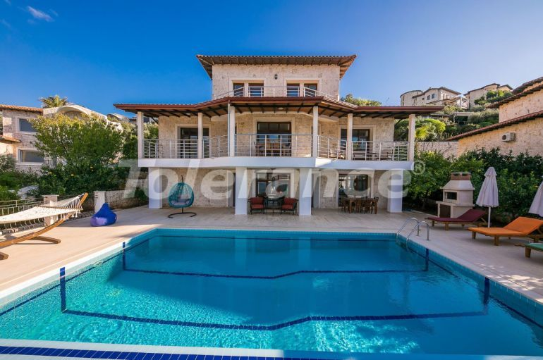 Private villa in Kas profitable for investment with outdoor pool, and with magnificent sea views - 31435   Tolerance Homes