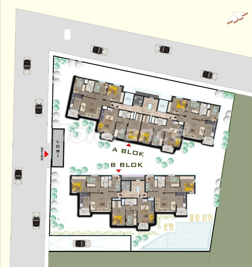 Luxurious modern apartments in Muratpasha, Antalya from the developer by installments - 31485 | Tolerance Homes
