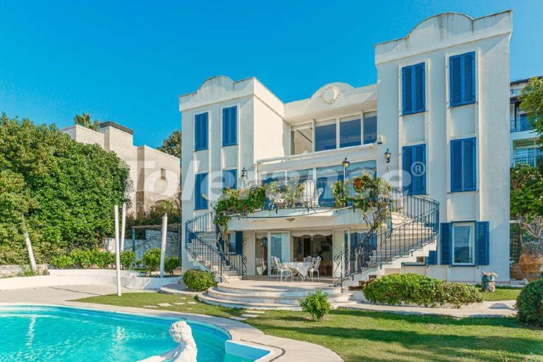 Detached villa in Yalikavak, Bodrum with panoramic sea view - 31871   Tolerance Homes