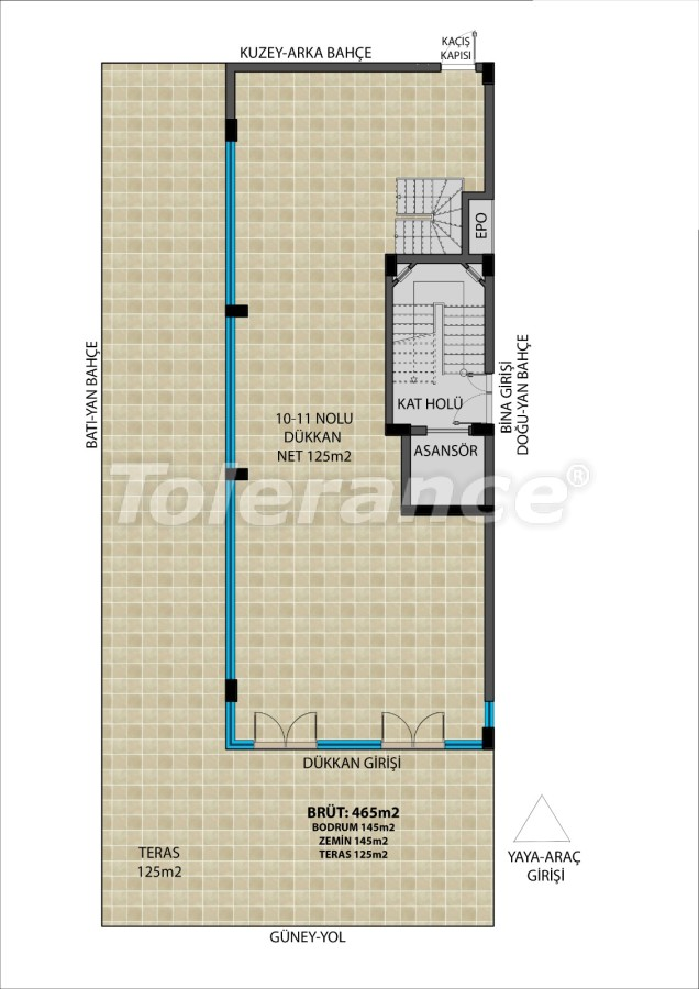 Commercial premises in Muratpasha, Antalya from the developer - 31514   Tolerance Homes