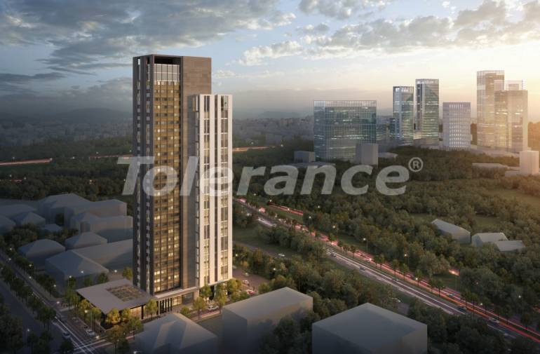 Apartments in Umraniye, Istanbul in a hotel type complex near the Istanbul Financial Center - 31602 | Tolerance Homes
