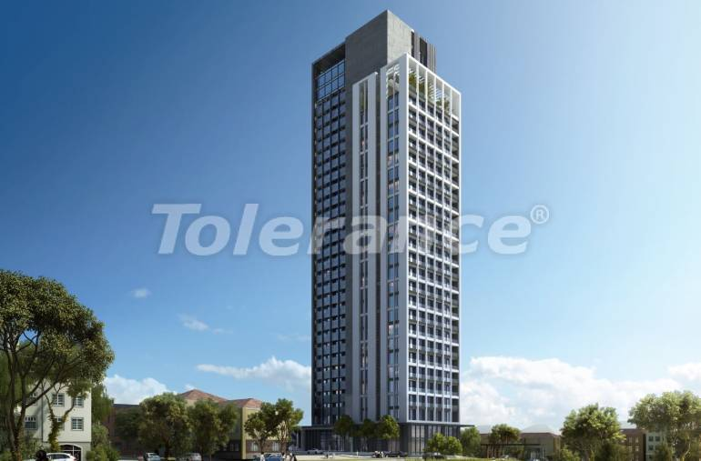Apartments in Umraniye, Istanbul in a hotel type complex near the Istanbul Financial Center - 31600 | Tolerance Homes