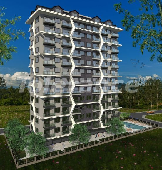 Modern apartments in Alanya, Mahmutlar in a complex with a swimming pool, by installments from the developer - 31641   Tolerance Homes