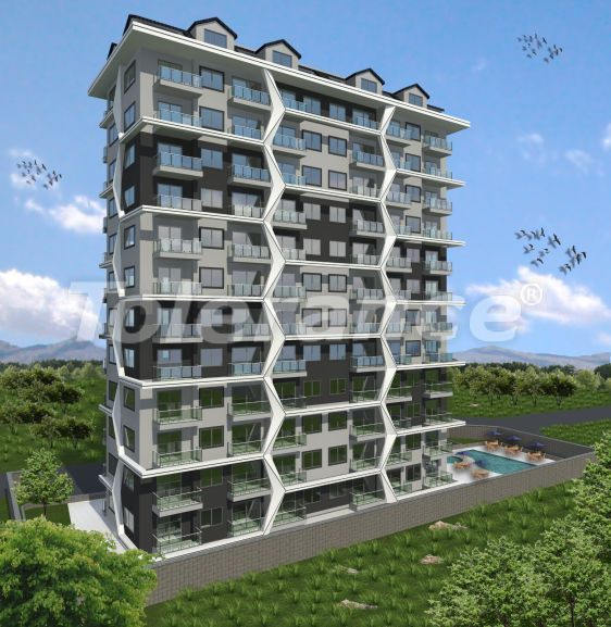 Modern apartments in Alanya, Mahmutlar in a complex with a swimming pool, by installments from the developer - 31634   Tolerance Homes