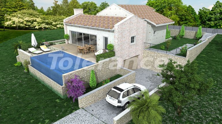 Luxury villas in Fethiye with private pool and rental guarantee - 32870 | Tolerance Homes