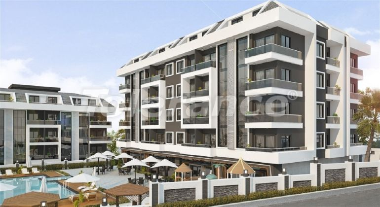 Inexpensive and cozy apartments in the new complex in Alanya, Oba - 33703 | Tolerance Homes