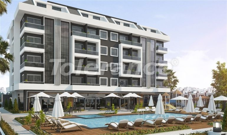 Inexpensive and cozy apartments in the new complex in Alanya, Oba - 33705 | Tolerance Homes