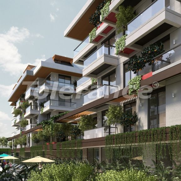 New apartments in Oba, Alanya with sea views, by installments from the developer - 33771 | Tolerance Homes