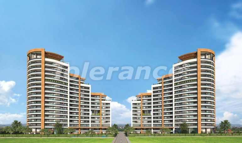 Spacious apartments in Mezitli, Mersin from the developer, with sea views - 33950 | Tolerance Homes