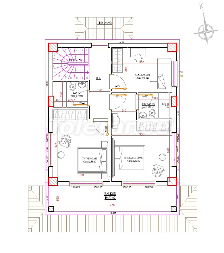 Villas in Belek by installments, from a reliable developer - 33908   Tolerance Homes