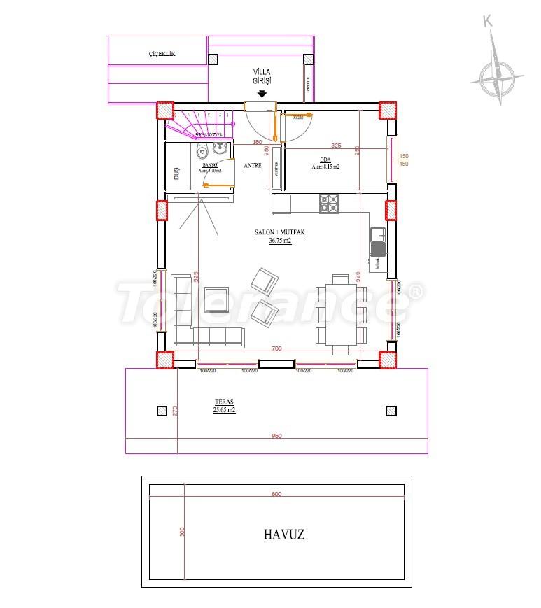 Villas in Belek by installments, from a reliable developer - 33906   Tolerance Homes