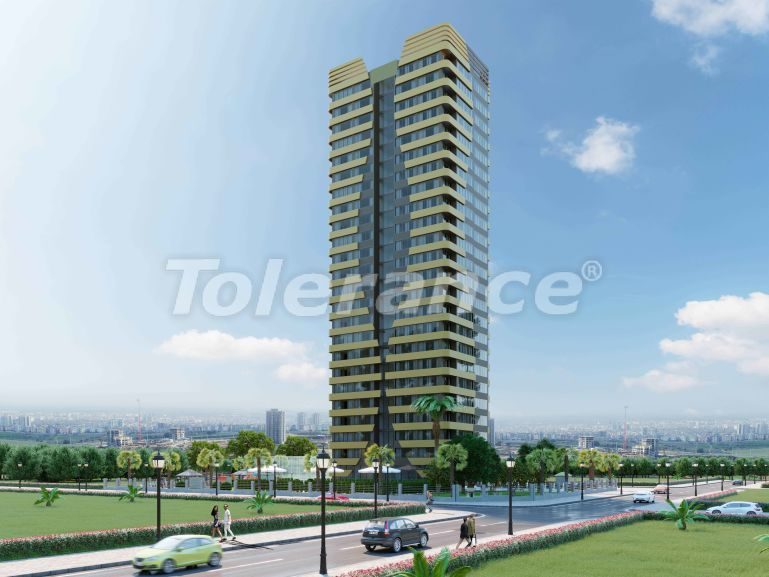 Elite apartments in Mezitli, Mersin in a complex with installments from the developer - 33961   Tolerance Homes