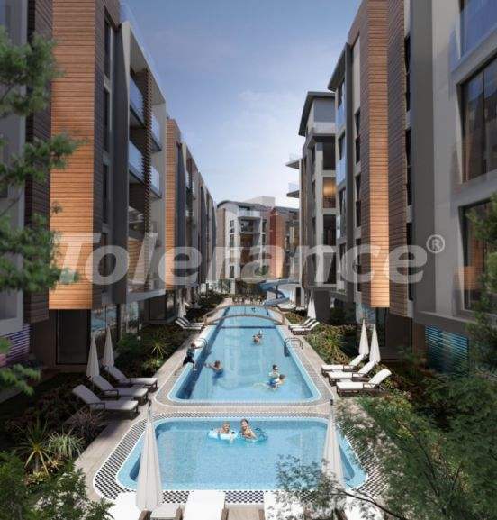 Three-bedroom apartment in Hurma, Konyaalti in a complex with indoor and outdoor pools - 34156 | Tolerance Homes