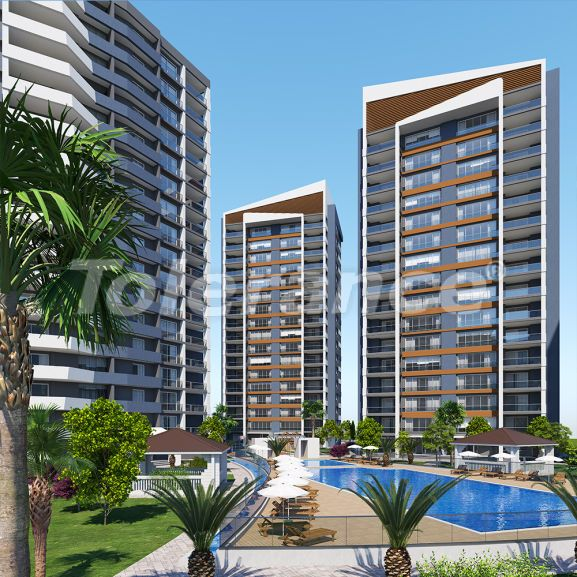Luxury apartments in the center of Mezitli, Mersin from one of the best developers - 34291 | Tolerance Homes