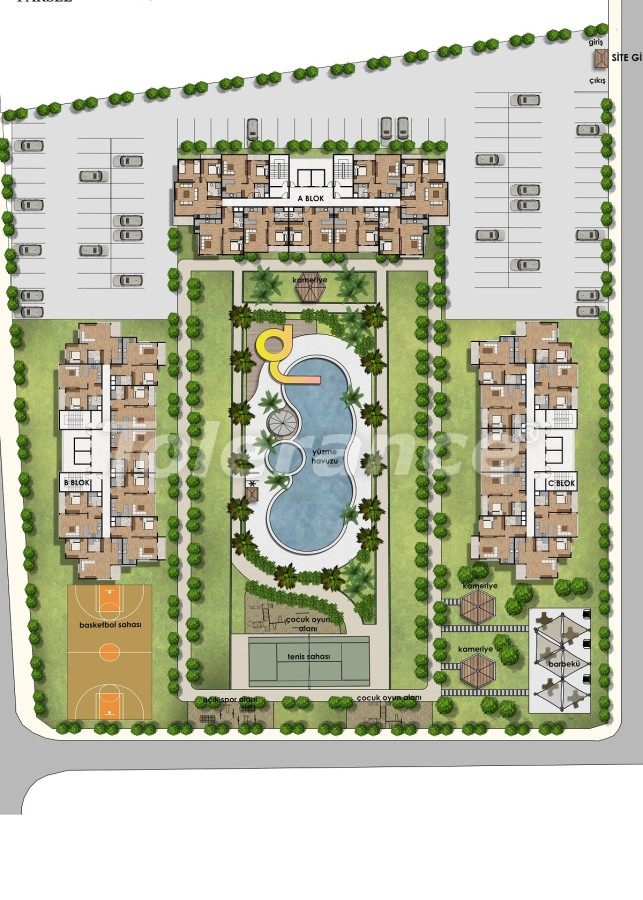 Apartments in Tece, Mersin near the sea and with installments from the developer - 34325 | Tolerance Homes