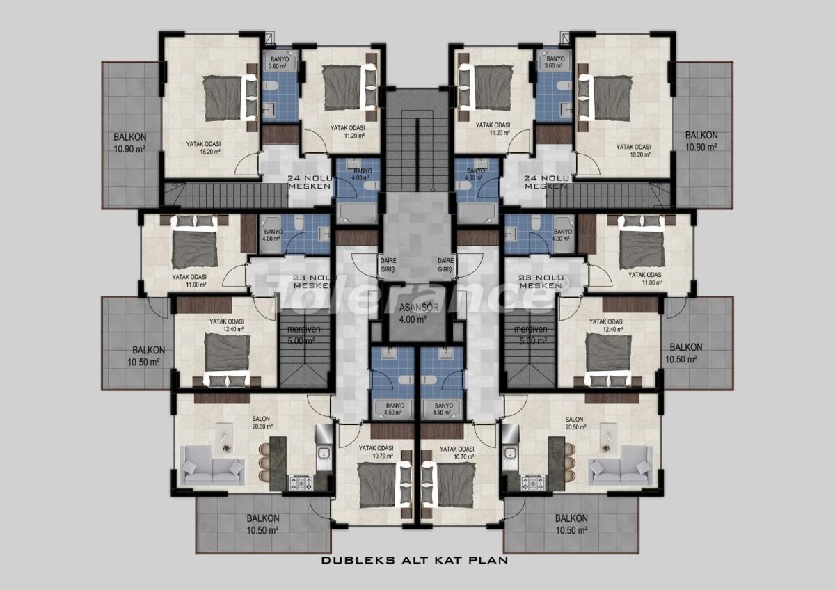 Flats in Avsallar, Alanya from the developer - 34472 | Tolerance Homes