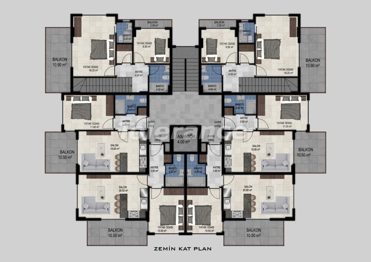 Flats in Avsallar, Alanya from the developer - 34474 | Tolerance Homes