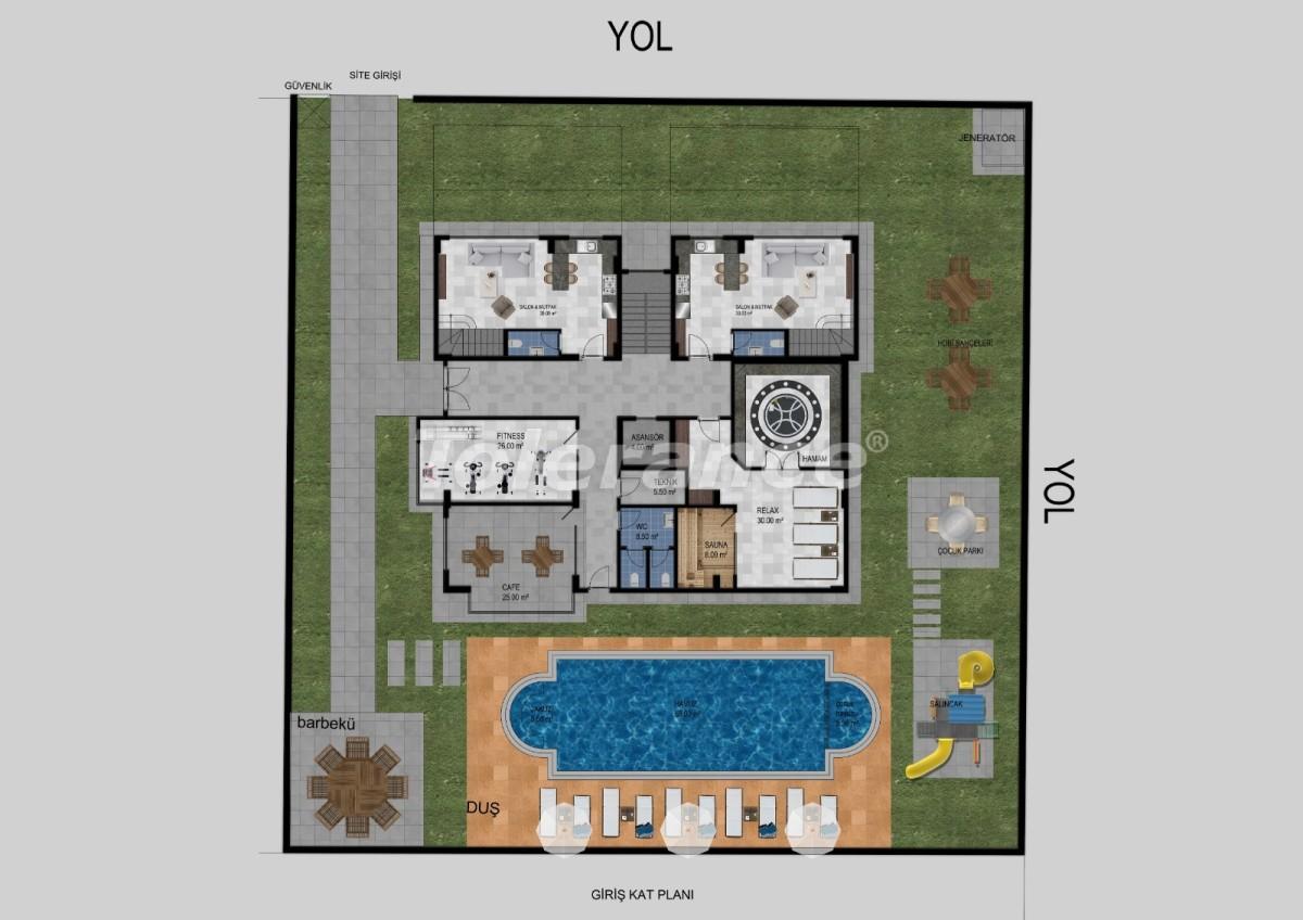 Flats in Avsallar, Alanya from the developer - 34470 | Tolerance Homes