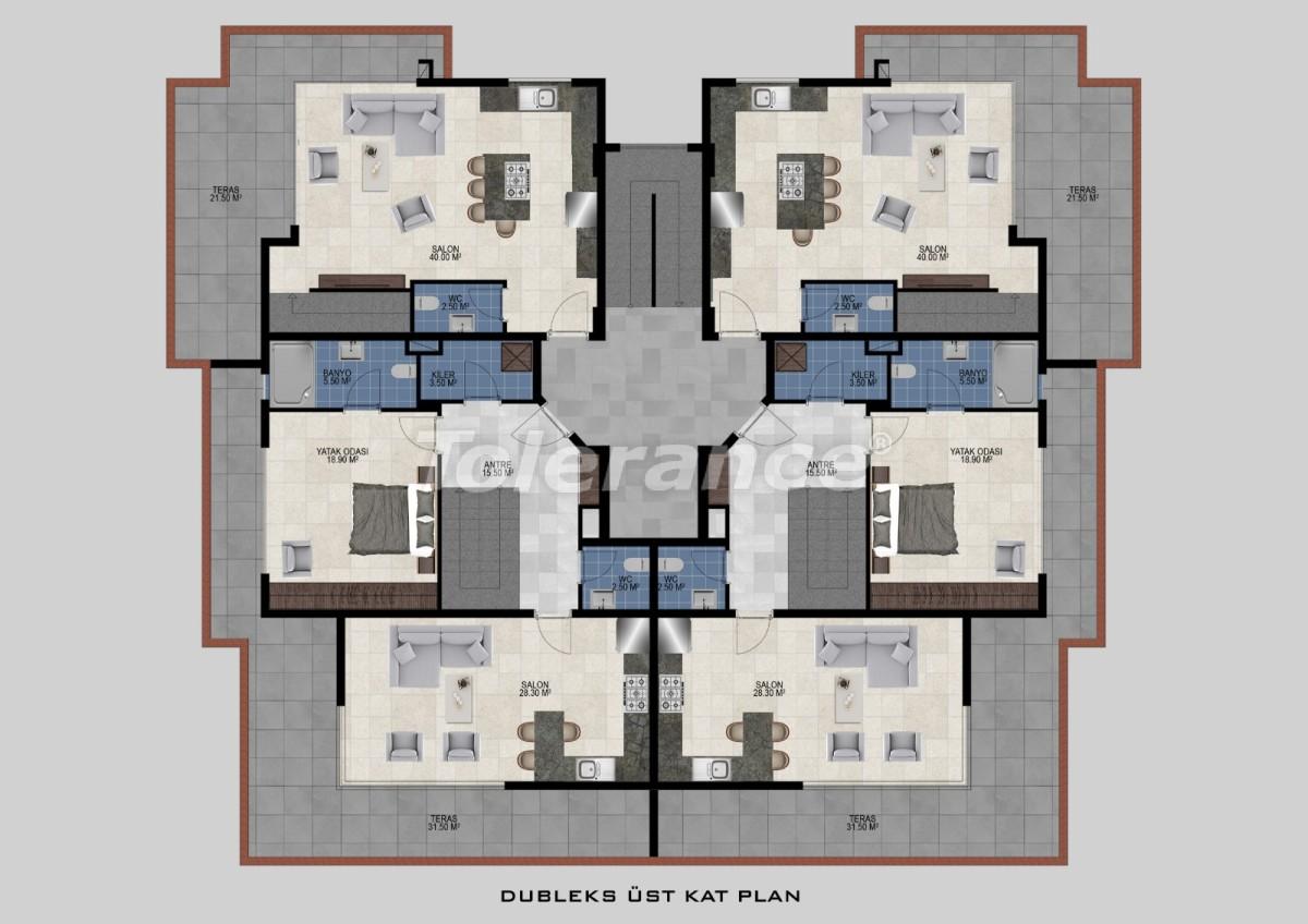 Flats in Avsallar, Alanya from the developer - 34475 | Tolerance Homes