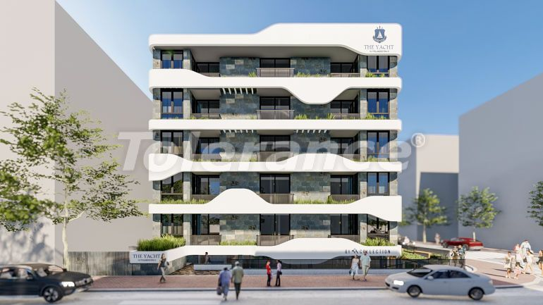 Apartments in the center of Alanya, profitable for investment from the developer - 34480 | Tolerance Homes