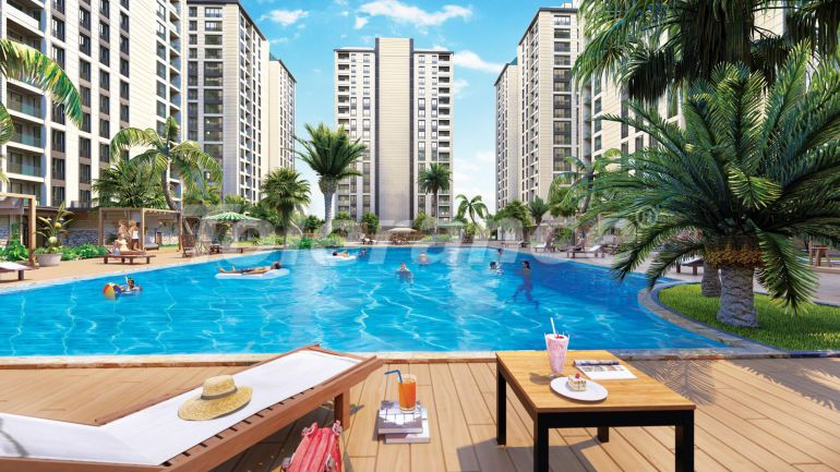 Luxury apartments in Istanbul in a modern complex, profitable for investment - 34703 | Tolerance Homes