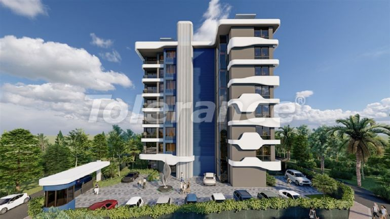 Apartments in Avsallar, Alanya from the developer in a complex with a swimming pool - 34524 | Tolerance Homes